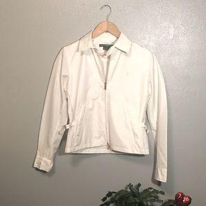 White Ralph Lauren Golf Jacket